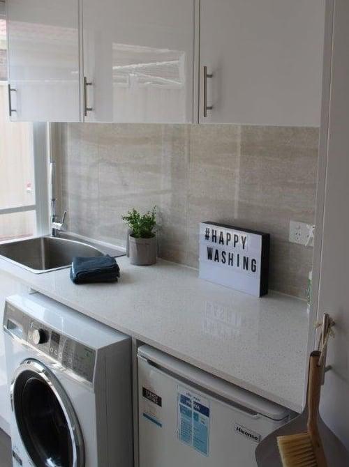 laundry installation