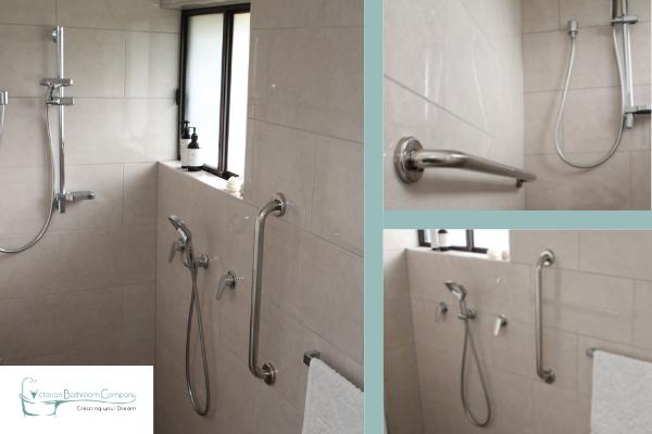 melb client bathroom renovation for elderly 2021